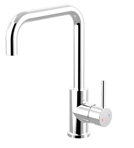 Senza Square Line Sink Mixer Chrome