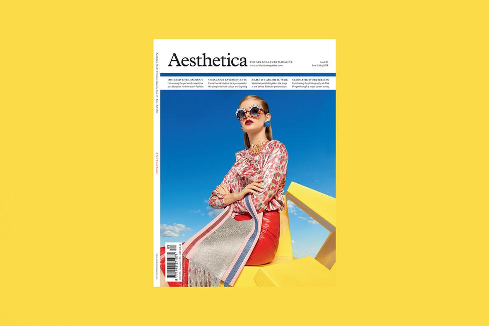 SWAROVSKI SS18 • AESTHETICA COVER