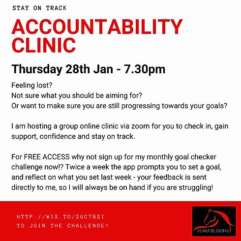 Accountability Virtual Clinic - FEB