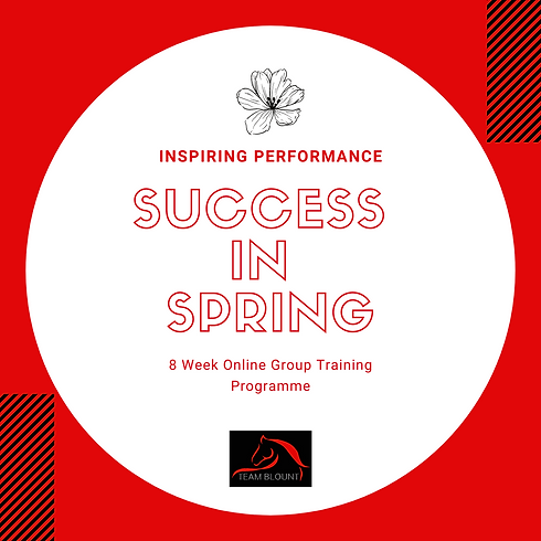 Success in Spring Sign up list!