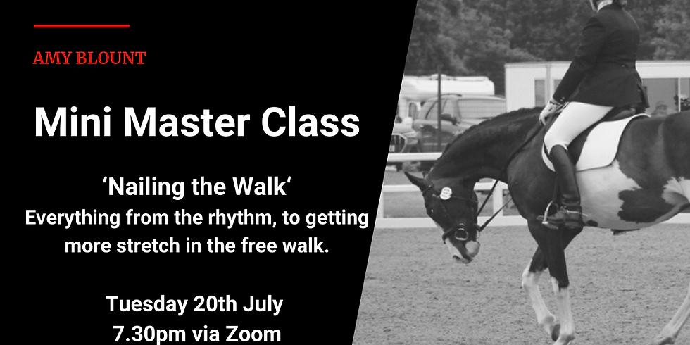 Mini Masterclass - Nailing the Walk