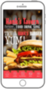 Hanks Tavern Mobile App by Grand Apps