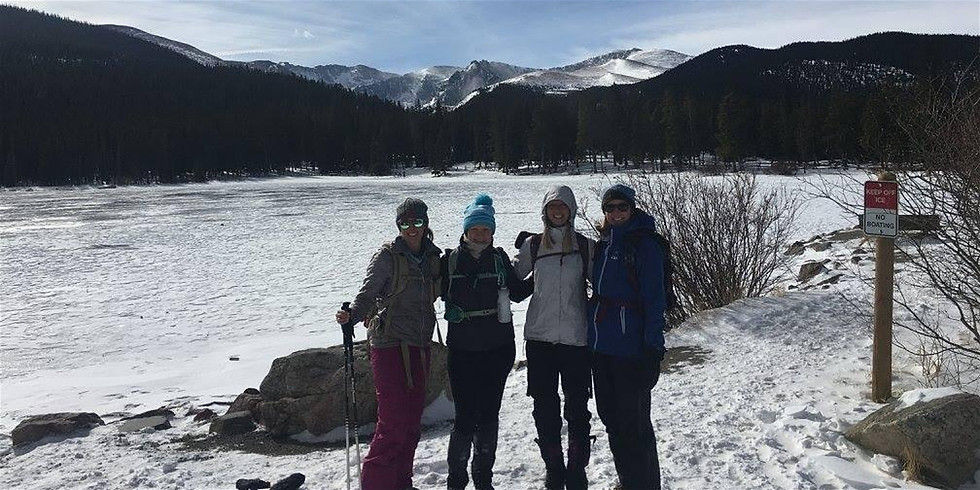 Women's Mount Evans Snowshoes and Brews!