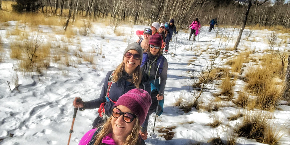 Ladies Snow Shoe at Kenosha Pass
