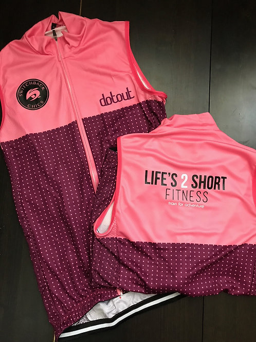 Life's 2 Short Fitness & Switchback Chics Bike Jersey