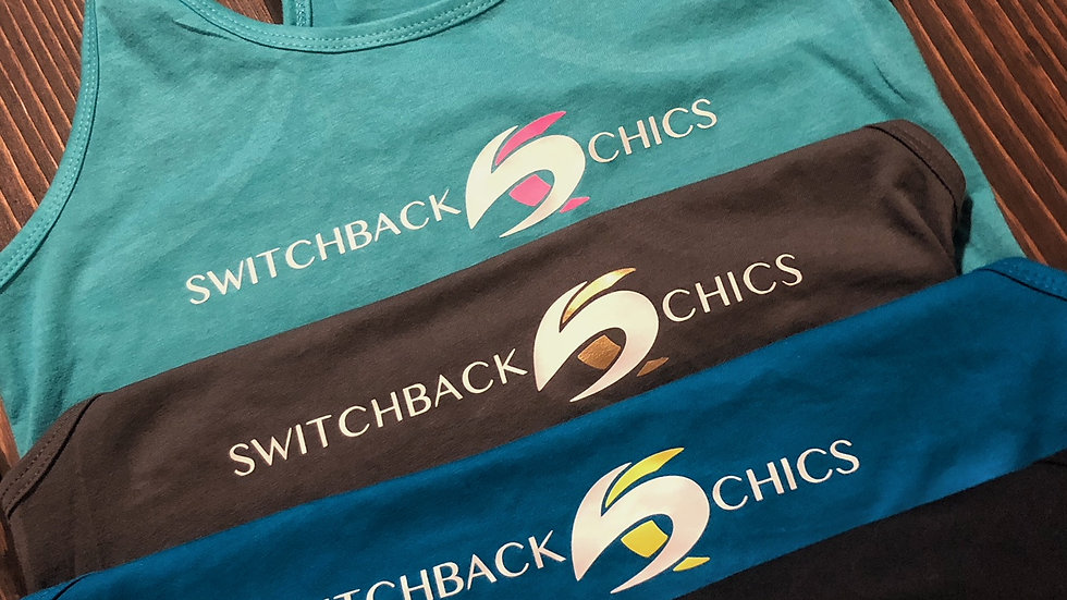 Switchback Chics Racerback Colorblock Tank Top
