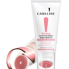 קרליין משיקה:   - YOUNG ג'ל לניקוי הפנים עם מברשת ניקוי ייחודית