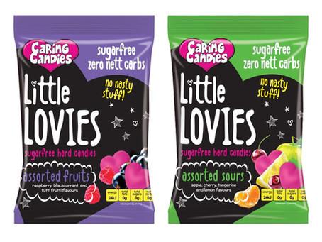 """LITTLE LOVIES""   - סדרת סוכריות במגוון טעמים נהדרים, ללא סוכר, שומן, גלוטן, נתרן, צבע מאכל מלאכותי"