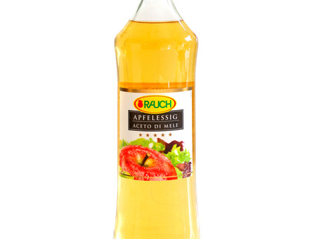 """""""תומר"""" משיקה חומץ תפוחים איכותי של חברתRauch  האוסטרית"""