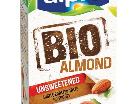 מותג Alpro משיק בישראל משקה שקדים אורגני - ללא תוספת סוכר