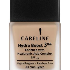 קרליין גאה להציג: Hydra Boost Foundation מייק אפ הידרה בוסט עם טכנולוגיית 3 HA