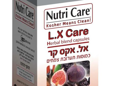 Nutri Care מציגה פורמולה צמחית – L.X Care