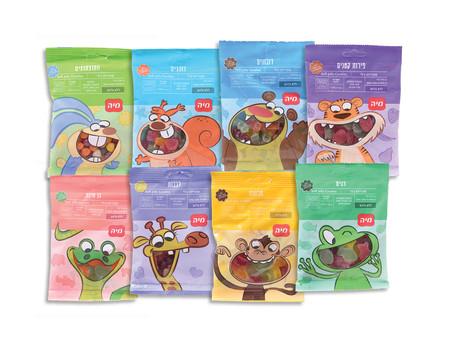 יצרנית המזון מיה מציגה: סדרת הממתקים הטבעוניים - סוכריות ג'לי נפלאות לילדים ללא רכיבים מן החי