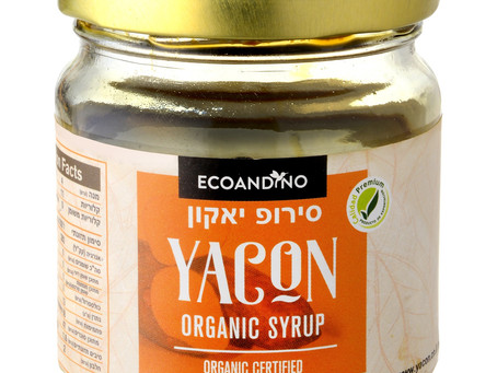 """חדש בישראל: סירופ """"יאקון"""", ממתיק טבעי מופחת קלוריות ובעל אינדקס גליקמי נמוך"""