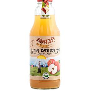"""""""תבואות"""" משיקה 100% מיץ תפוחי עץ אורגני"""