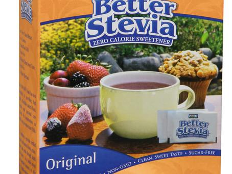 """מותג תוספי התזונה NOW מציג את התחליף הבריא והטבעי לסוכר, ללא קלוריות  -""""Better Stevia"""" – &"""