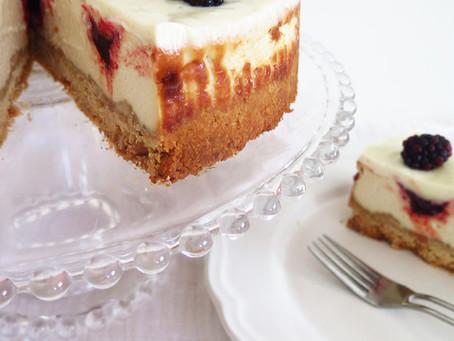 """עוגת """"גבינה"""" ופטל טבעונית"""