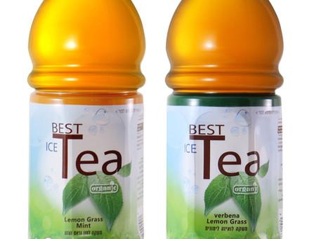 חוות גרוס-אורגניקה משיקה משקאות תה צמחים קר אורגני