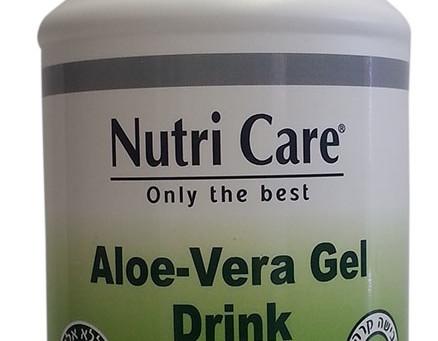 """מותג תוספי התזונהNutri Care  מציע """"משקה ג'ל אלוורה"""""""