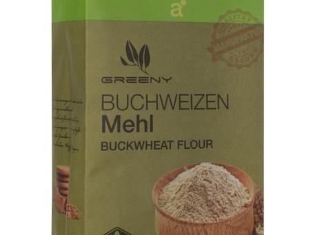 מותג מזון הבריאות GREENY השיק קמח כוסמת 100%