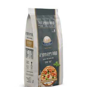 """""""טחנות ישראליות"""" מציעה קמחים ייעודיים להכנת פסטה, פיצות ופוקצ'ות."""