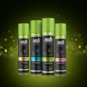חדש מנטורל פורמולה:  - Dry Shampoo - מנקה ומרענן ברגע ללא חפיפה.