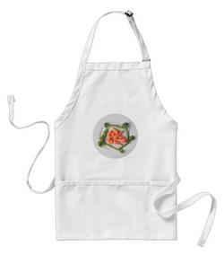 White apron 5078