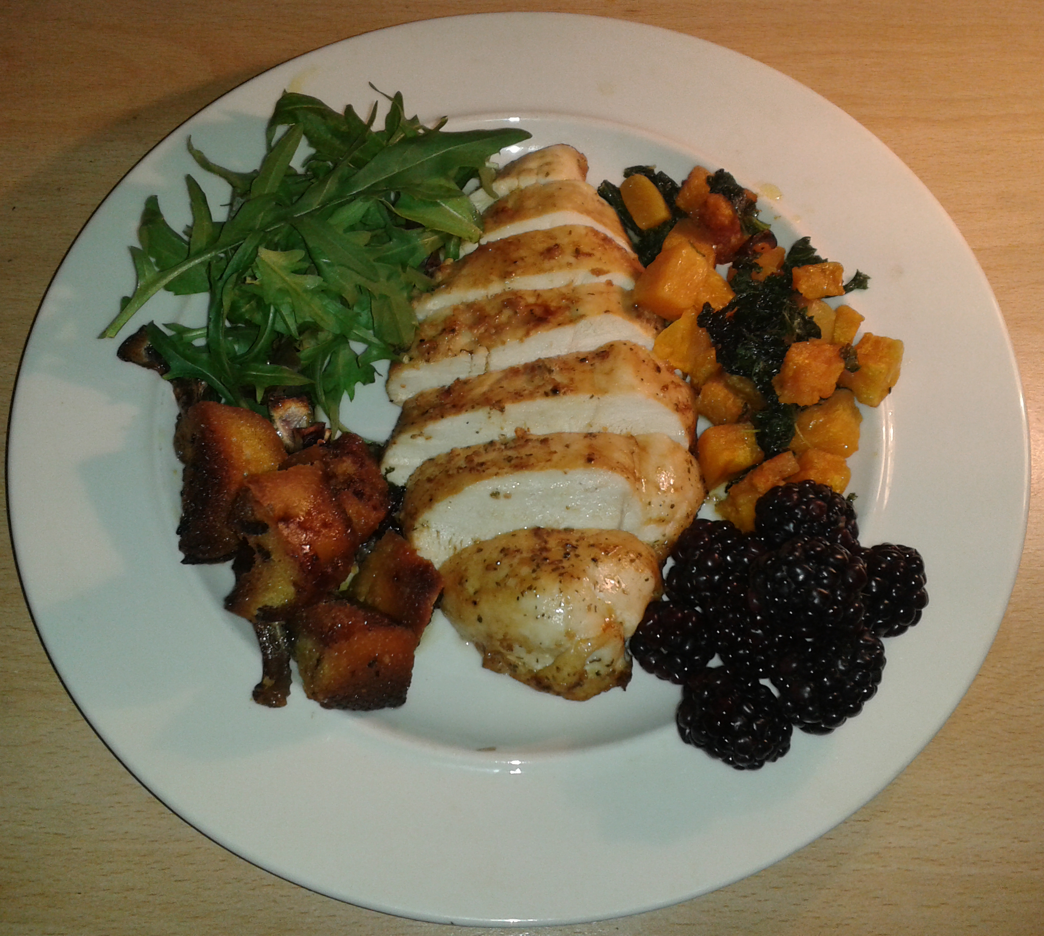 Chicken & butternut squash (Su1064)