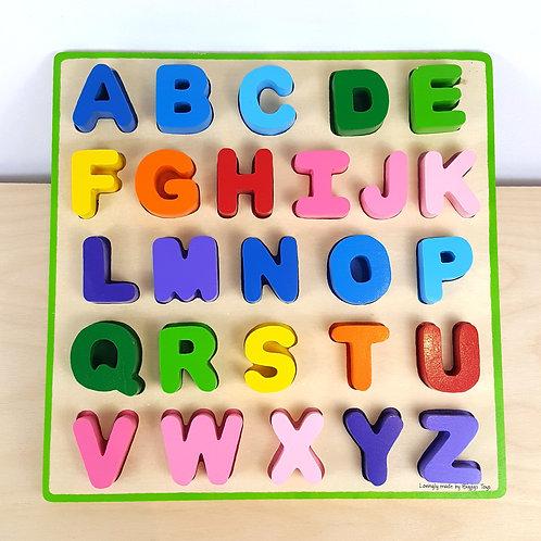 Alphabet Puzzle: Upper Case (27m+)