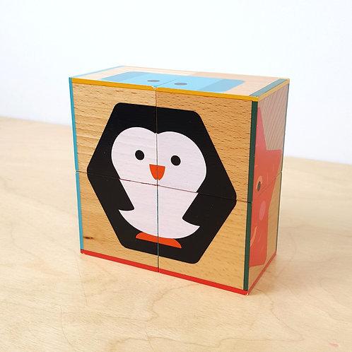 4 Cube Puzzle (30m+)