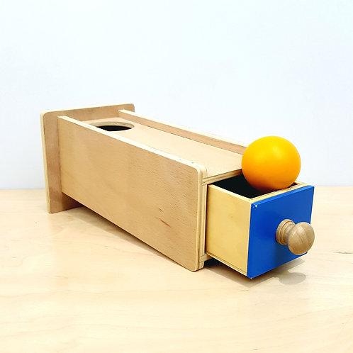 Montessori Object Permanence Box with Drawer (12-15m)
