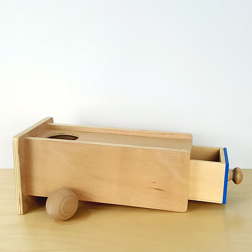 Object Permanence Box with Drawer (12-15m)