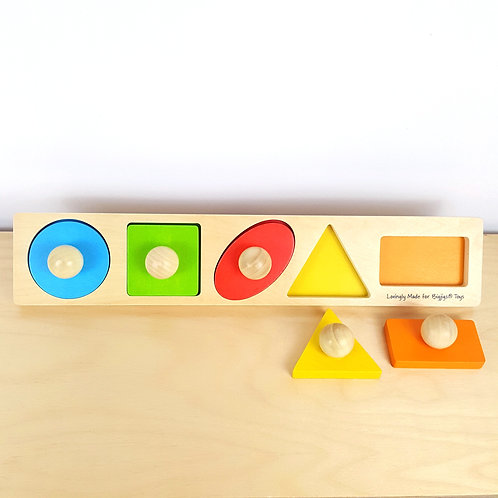 Shape and Colour Matching Puzzle (15m+)