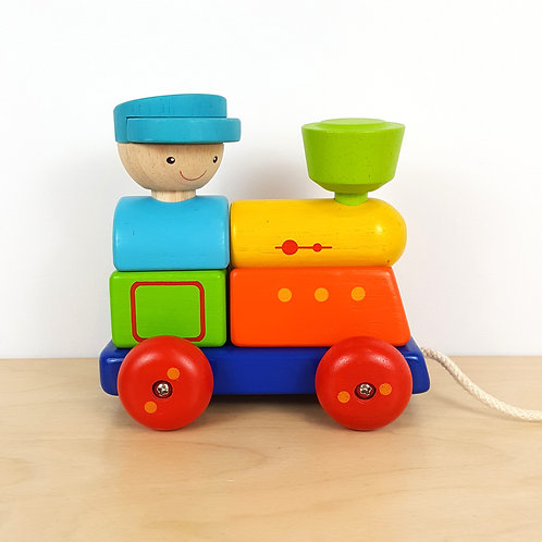 Train Puzzle Pull Toy (24m+)