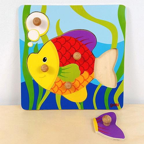 Fish Peg Puzzle (30m+)