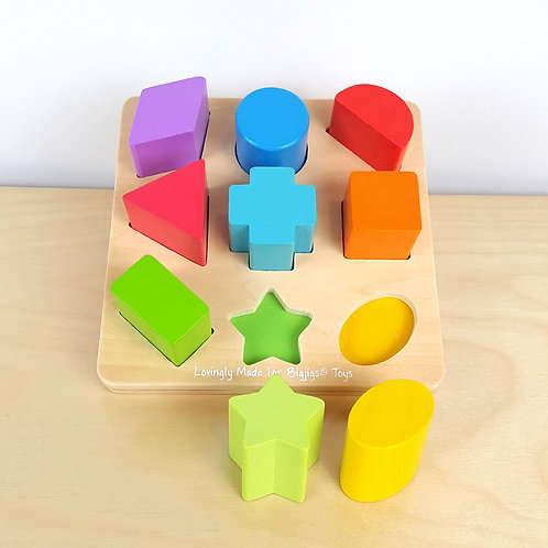 Chunky Shapes Puzzle (18m+)