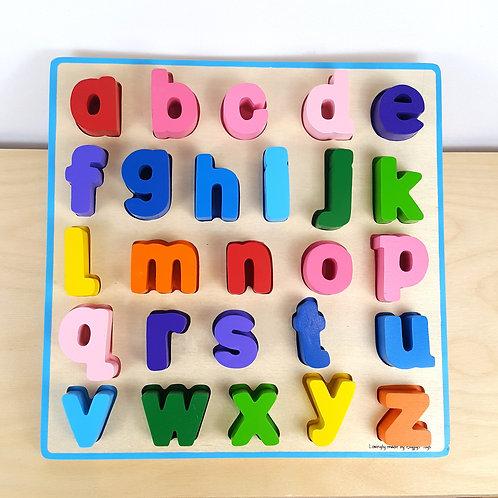 Alphabet Puzzle: Lower Case (30m+)