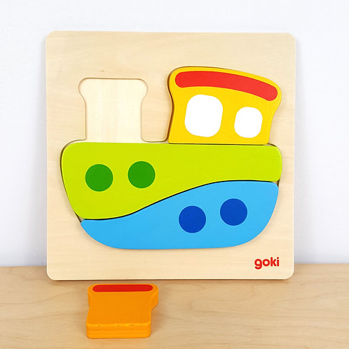 Boat Jigsaw Puzzle (30m+)