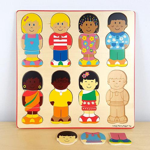 Children of the World 24 Piece Puzzle (30m+)