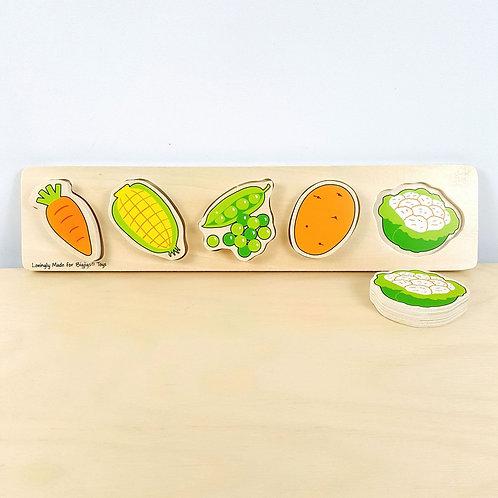 Veggie Matching Puzzle (18m+)