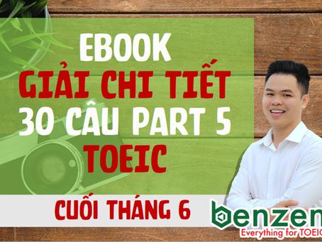 EBOOK PART 5 TOEIC - CUỐI THÁNG 6/2019