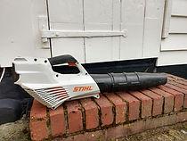 sthil battery leaf blower
