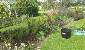 Garden border designs