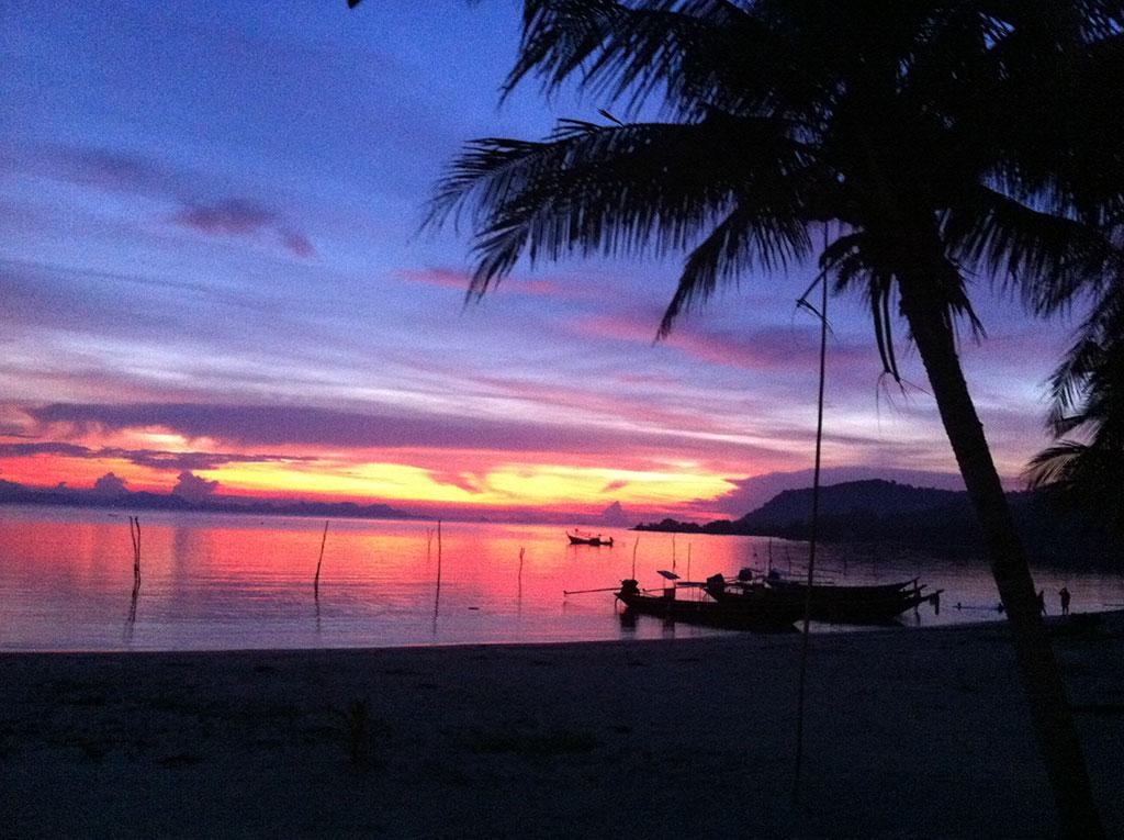Sunset - Koh Tan