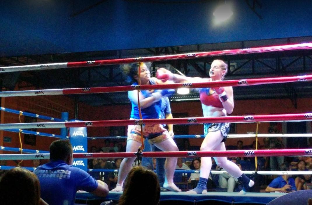 Woman fight