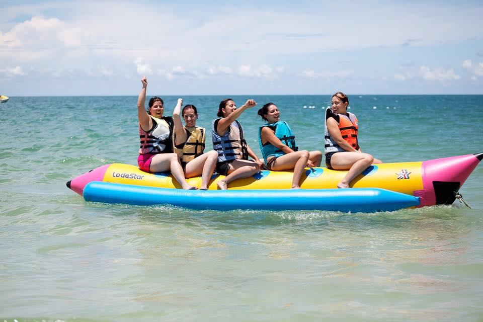 Fun with Banana boat