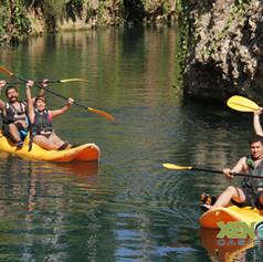 paseo en Kayaks