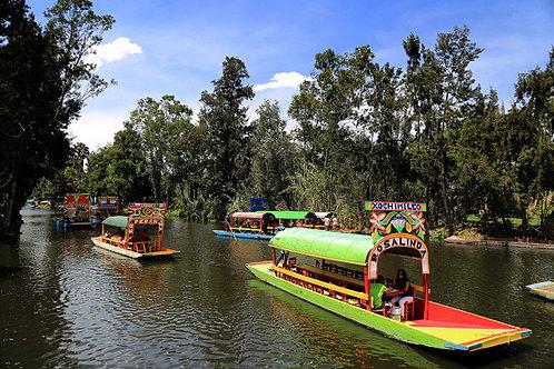 Tour Xochimilco - CU - Coyoacán - Ángel de la Independencia.