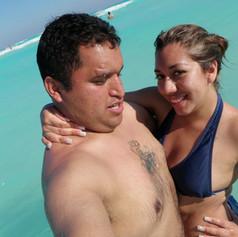 Emiliano y Cynthia