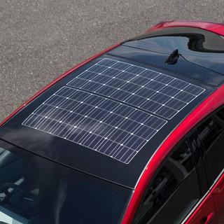Toyota Prius2 Solar Panel